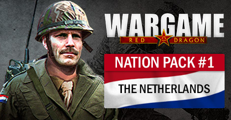 Wargame: Red Dragon Nation Pack#1 - The Netherlands