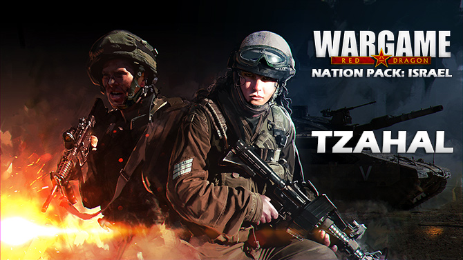 Wargame Red Dragon Tzahal Israel Army Nation Pack