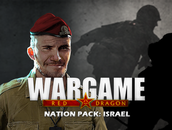 Eugen Systems RTS Game blog background Israel Nation Pack