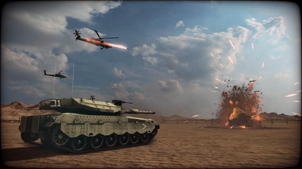 Wargame: Red Dragon - Nation Pack: Israel Merkava