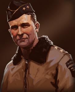 Maxwell_Taylor_101_Airborne_portrait_rimlight