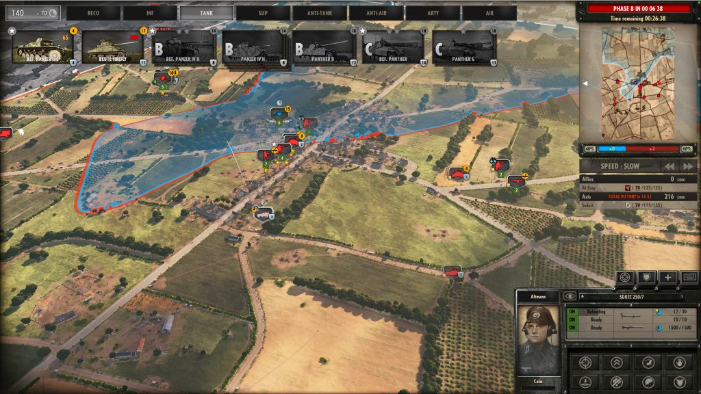Steel Division Normandy 44 Three-Phase Gameplay Phase A