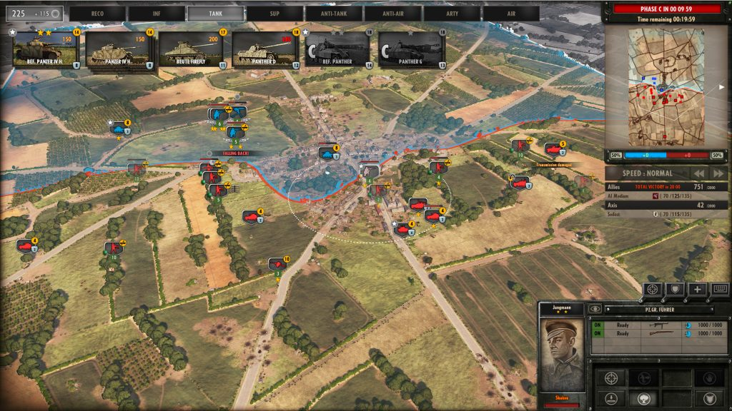 Steel Division Normandy 44 Three-Phase Gameplay Phase B