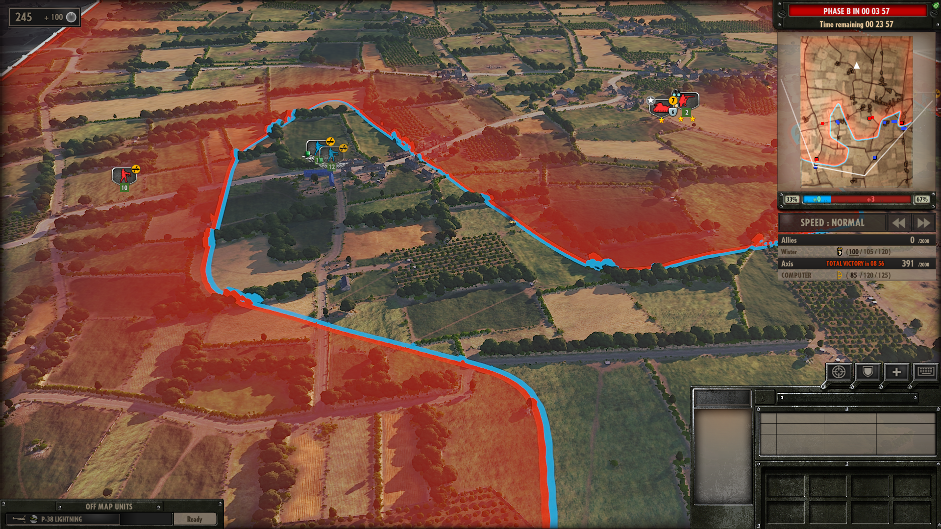 Steel Division Normandy 44 Dynamic Front Line