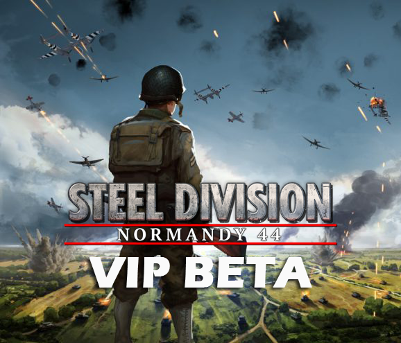 Eugen Systems RTS Game Steel Division Normandy 44 blog background vip beta