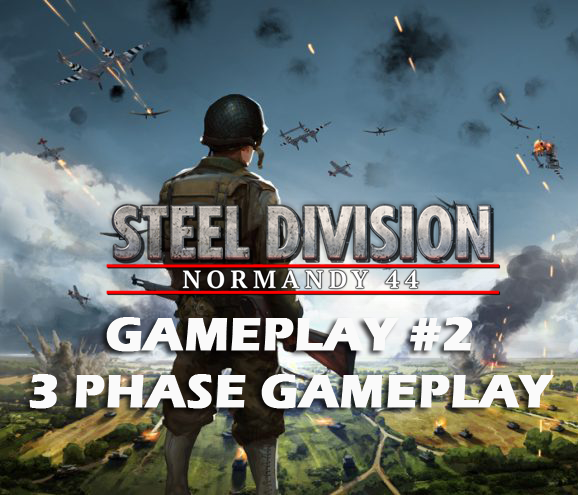 Eugen Systems RTS Game Steel Division Normandy 44 blog background gameplay 2