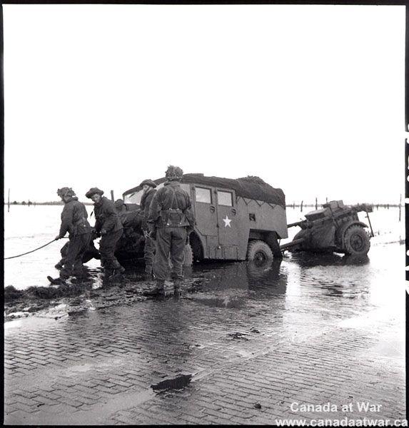 map operation charnwood 1944