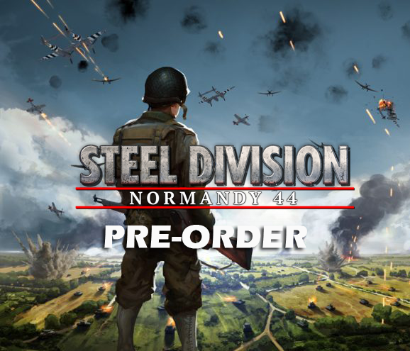 Eugen Systems RTS Game Steel Division Normandy 44 blog background pre-order