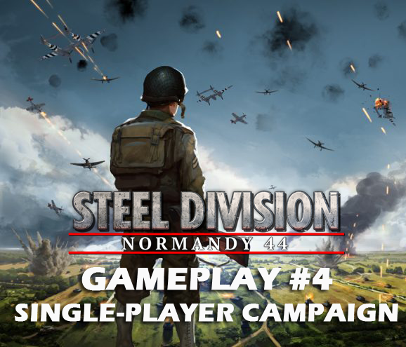 Eugen Systems RTS Game Steel Division Normandy 44 blog background gameplay 4