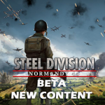 Eugen Systems RTS Game Steel Division Normandy 44 blog background beta new content