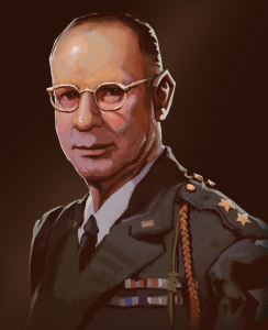 walter m robertson portrait 2nd infantry Division_rimlight