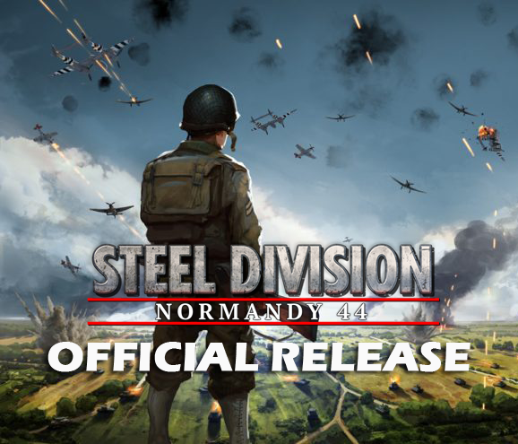 Eugen Systems RTS Game Steel Division Normandy 44 blog background official release