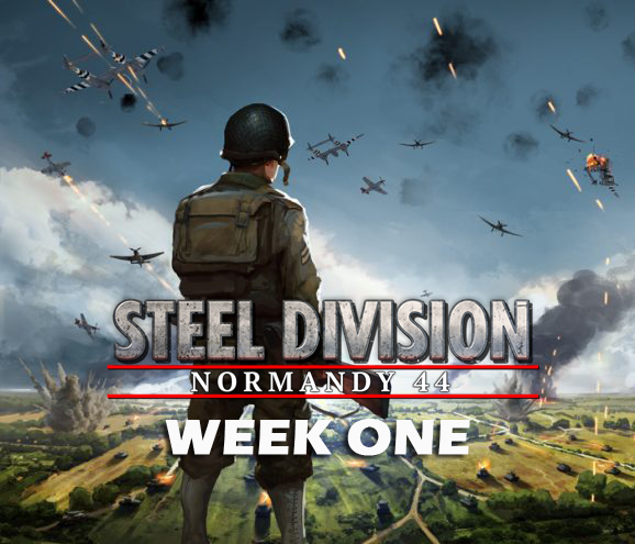 Eugen Systems RTS Game Steel Division Normandy 44 blog background week one