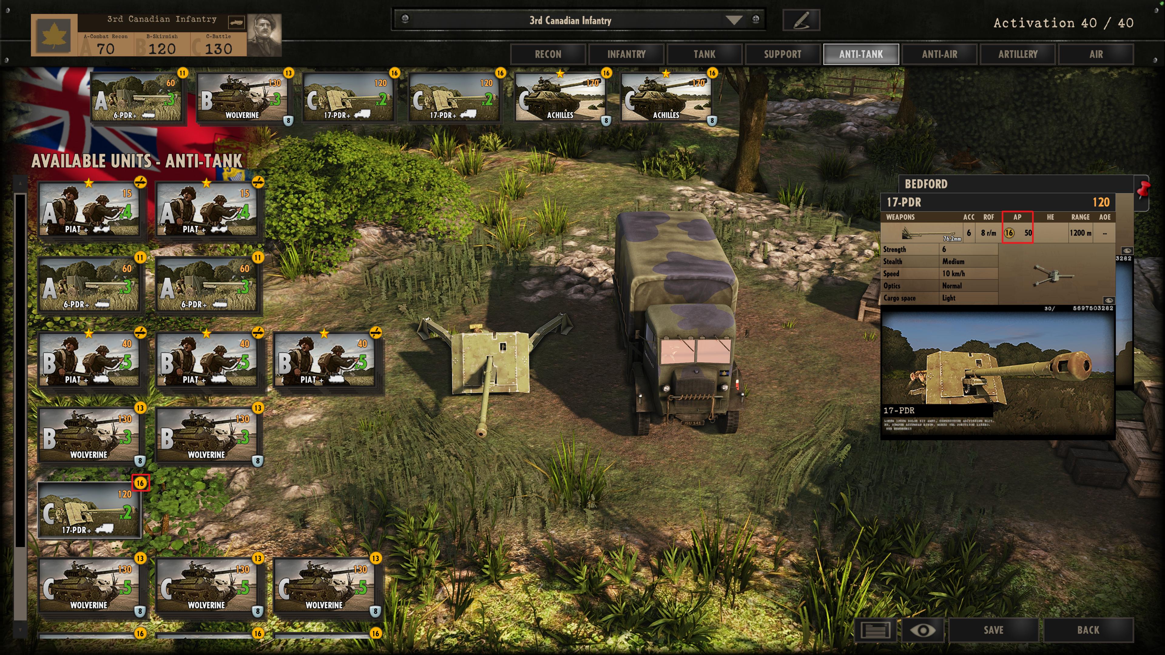 Steel Division: Normandy 44 - Anti-Tank Gameplay AP