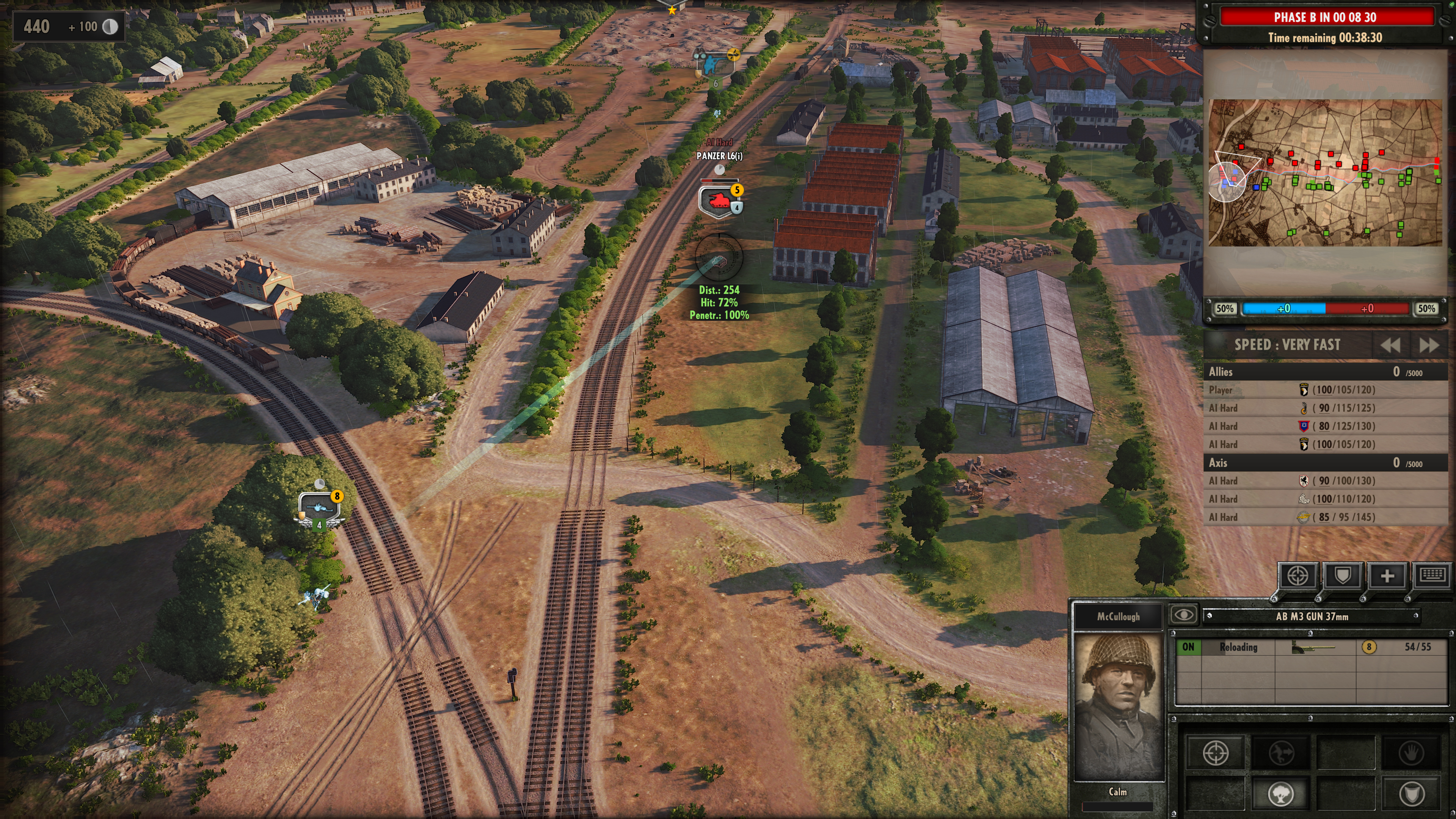 Steel Division: Normandy 44 - Anti-tank gameplay