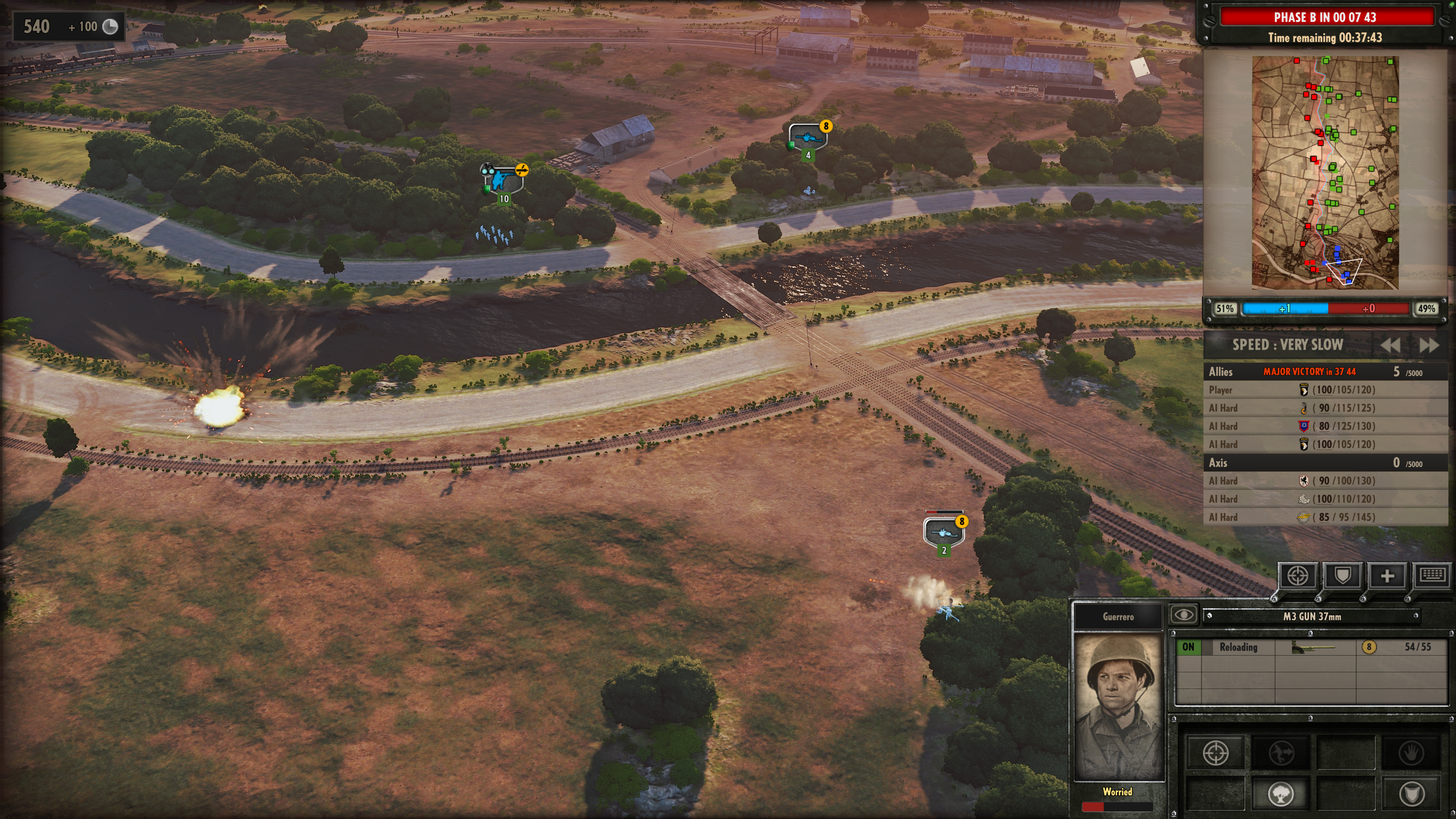 Steel Division: Normandy 44 - Crossed Fire
