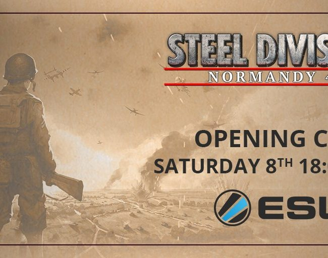 Steel Division: Normandy 44 - ESL tournament