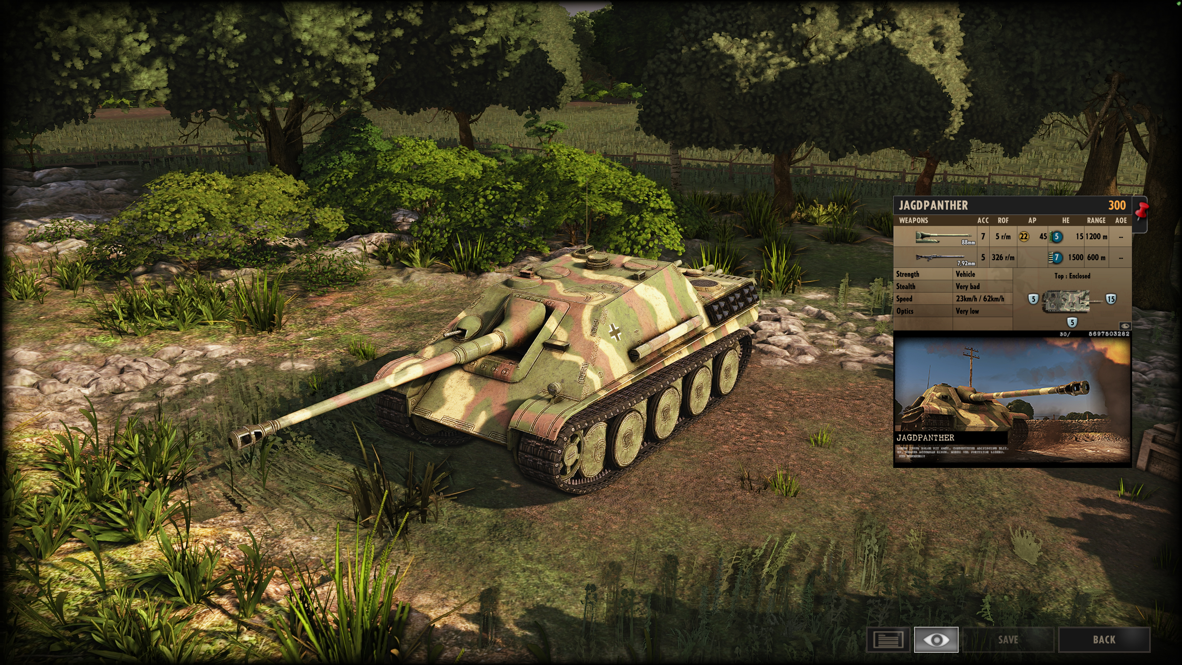 Steel Division: Normandy 44 - Anti-Tank Gameplay Jagdpanther