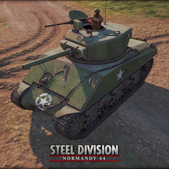 Steel Division: Normandy 44 - 3rd Armored - Jumbo