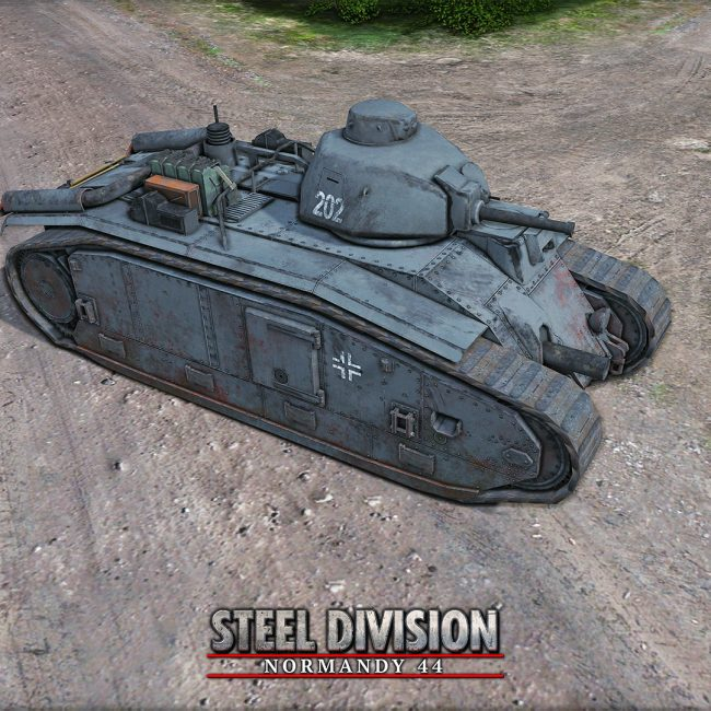 Steel Division: Normandy 44 - Panzer B2(f)