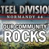Supporting the war effort: our community rocks!
