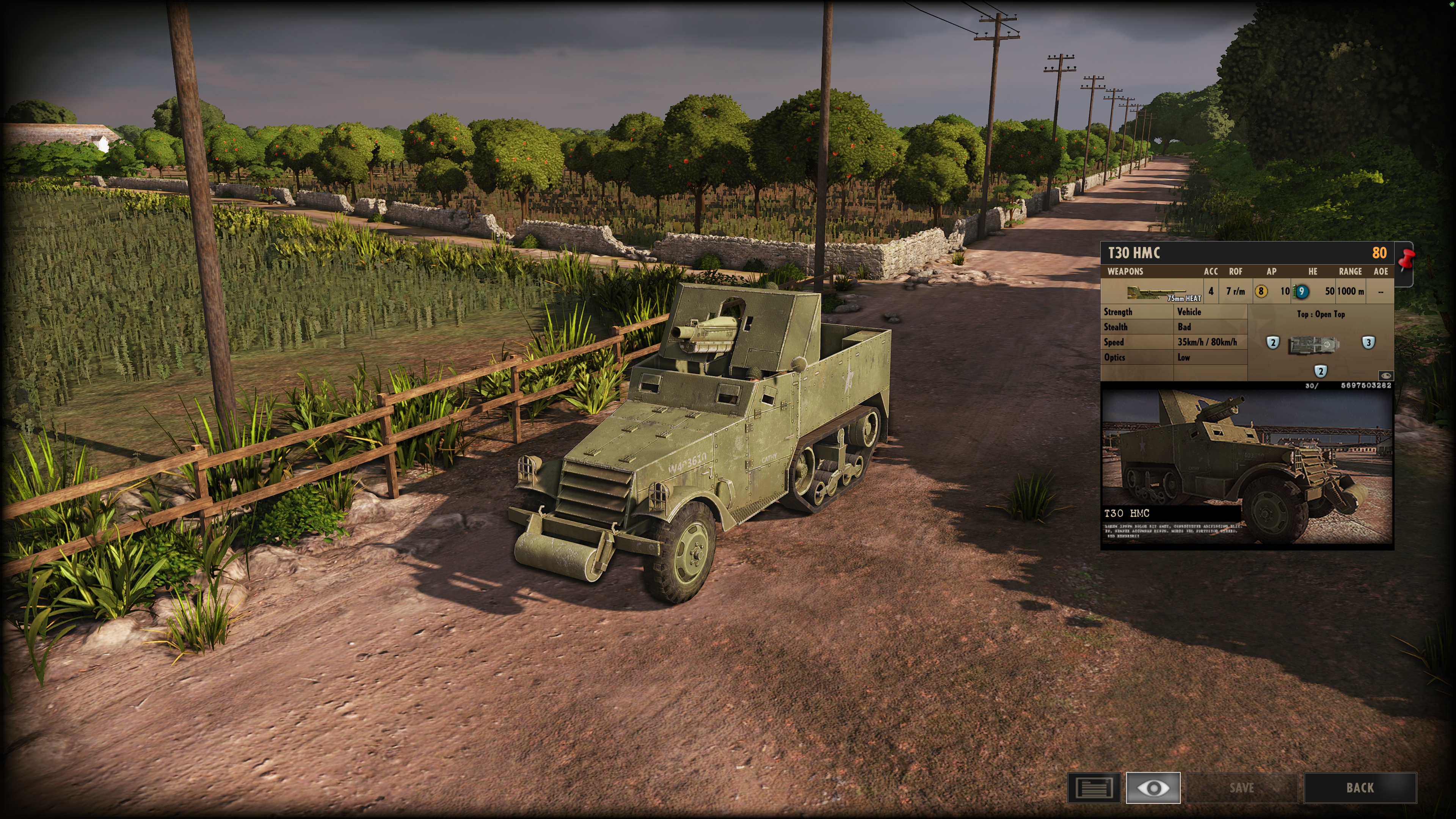 Steel Division: Normandy 44 - Anti-Tank Gameplay T30HMC