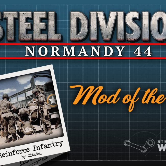 Steel Division: Normandy 44 Reinforce Infantry