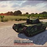 AVRE 15th Scottish Infantry Steel Division Normandy 44