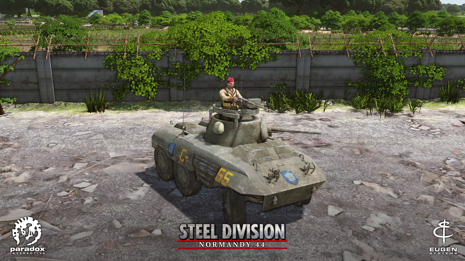 Steel Division: Normandy 44 AM-M8