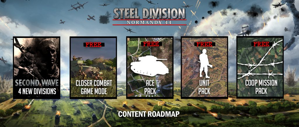 Steel Division: Normandy 44 - Roadmap