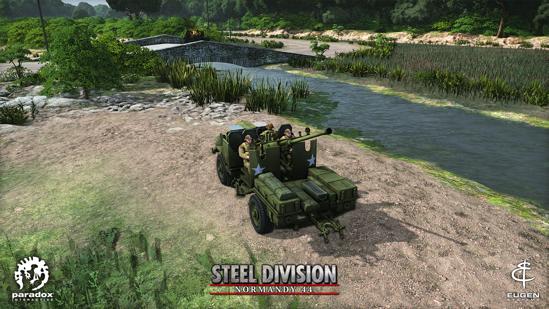 Steel Division: Normandy 44 - AA Bofors 440mm SP