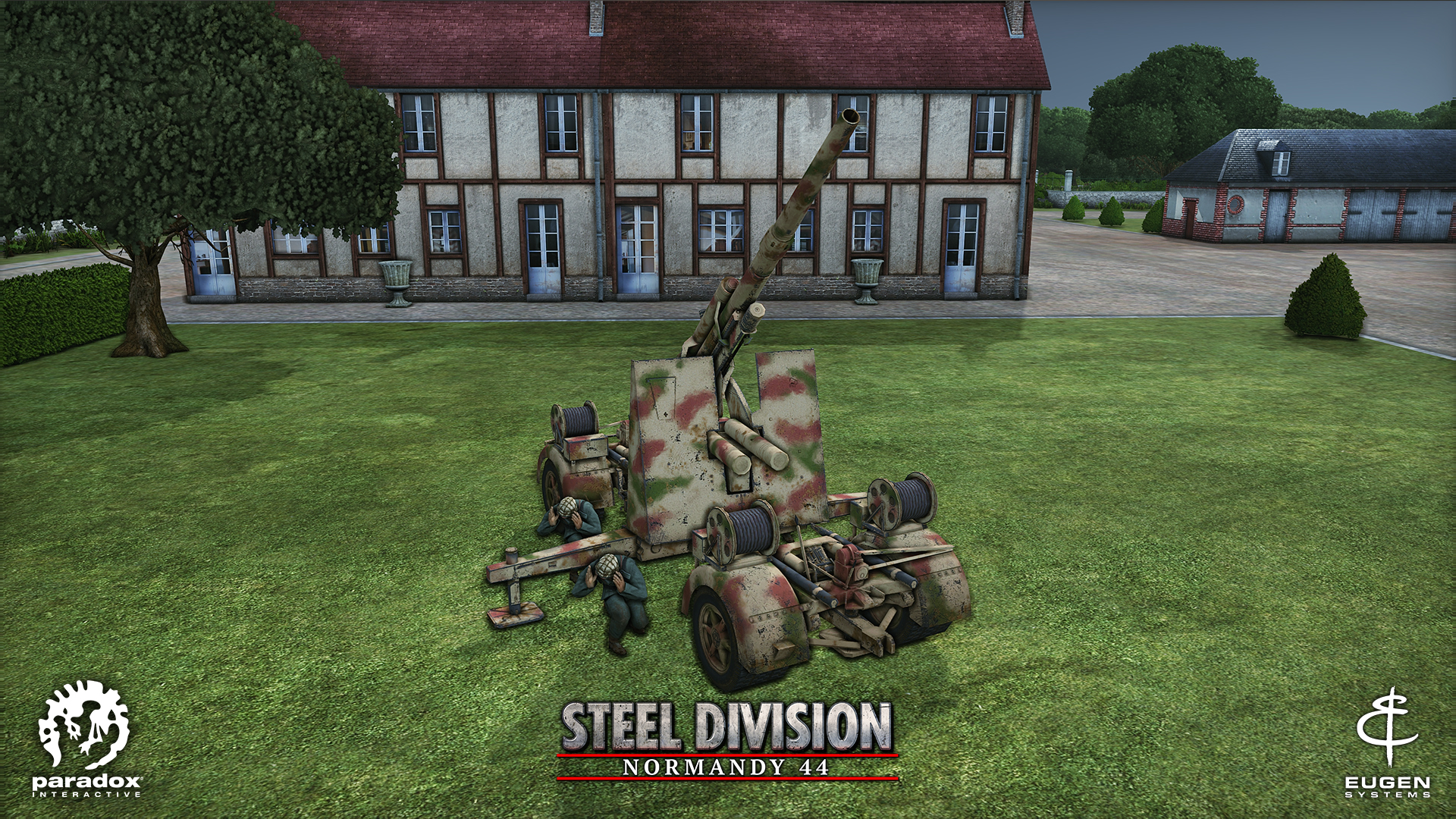 Steel Division: Normandy 44 - AA Flak 36 88mm