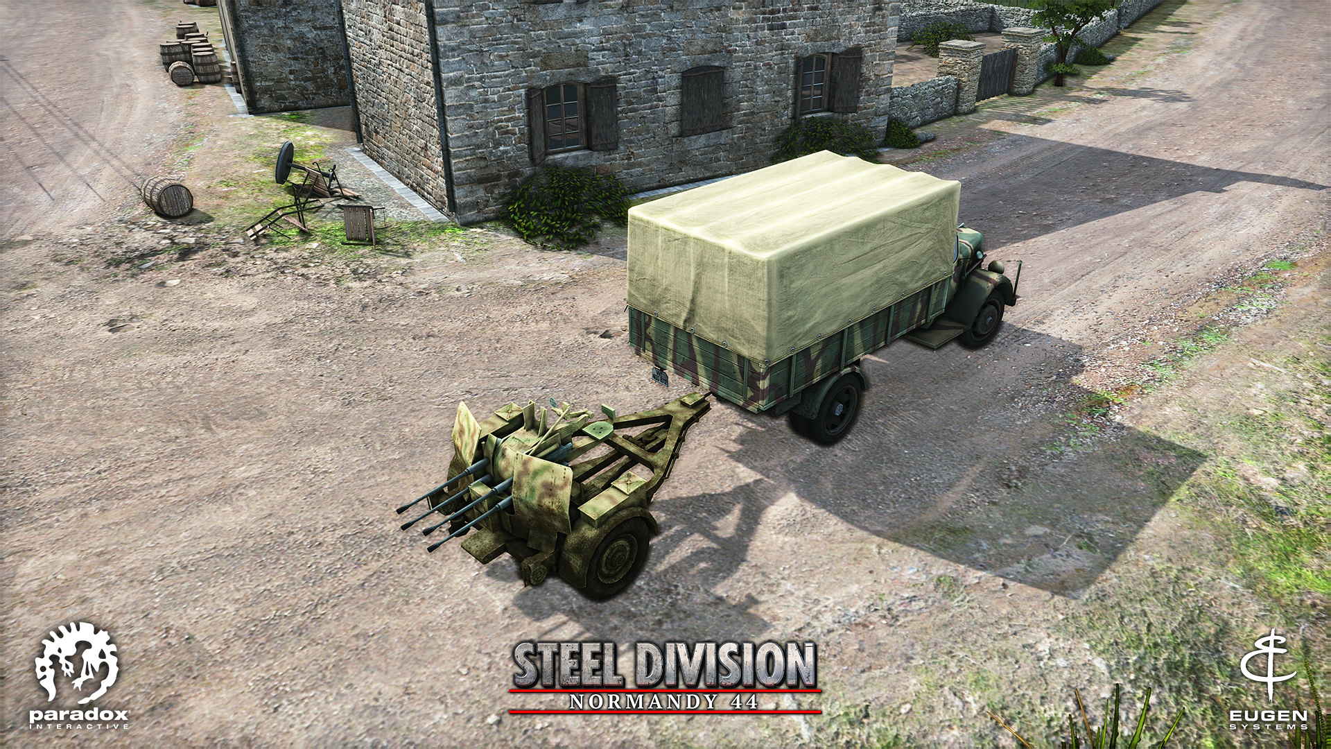 Steel Division: Normandy 44 - AA Flakvierling