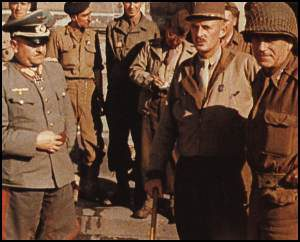 Von Choltitz with Leclerc, after his surrender