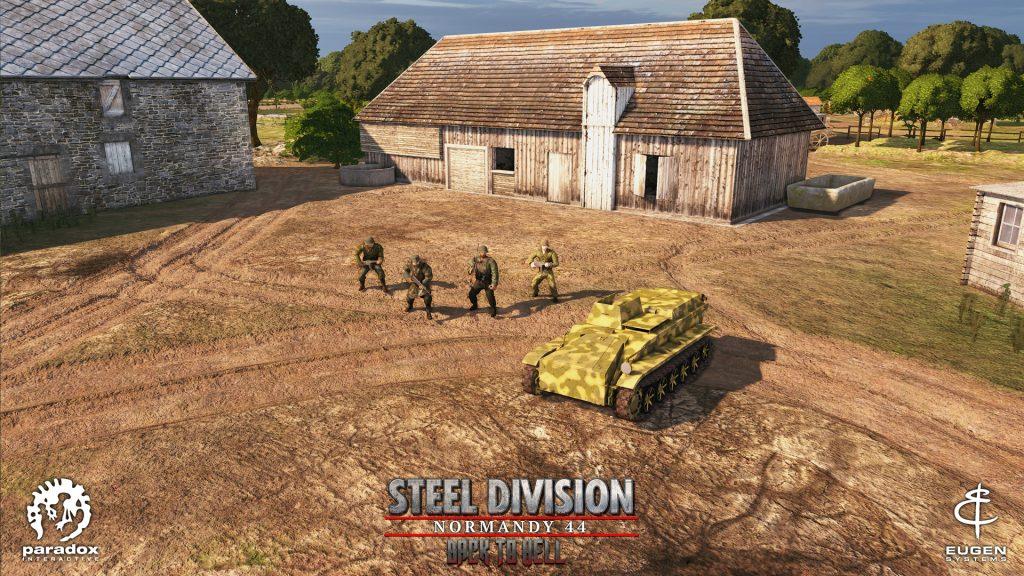 Steel Division Normandy 44 Borgward IV