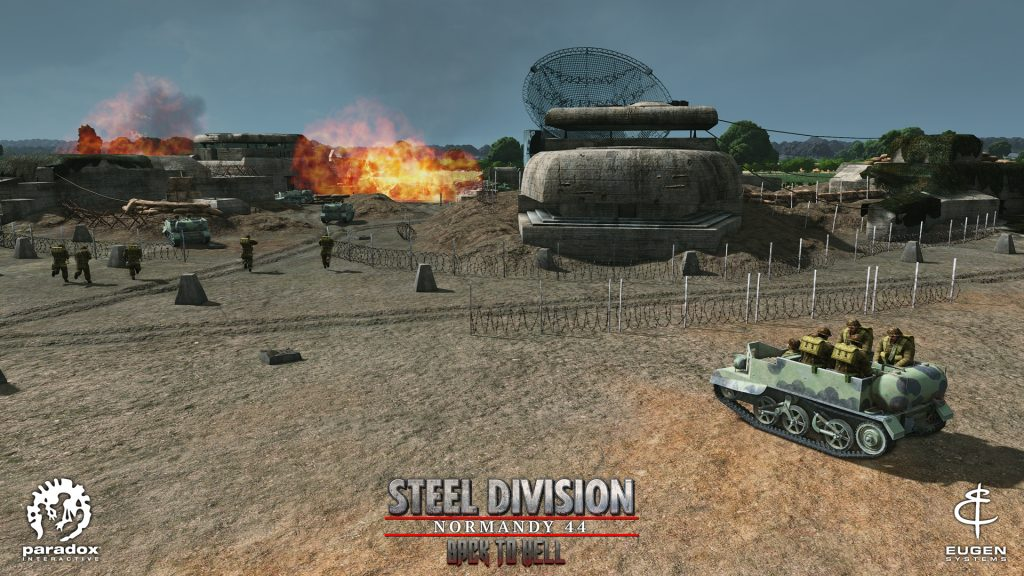 Steel Division: Normandy 44 - Back to Hell - WASP
