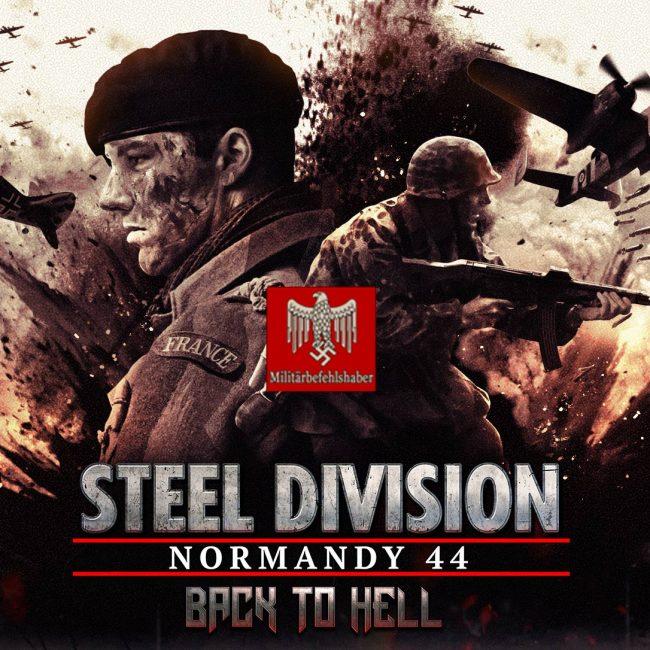 KEYART Steel Division DLC2 Back to Hell Festung Groß-Paris Blog Background