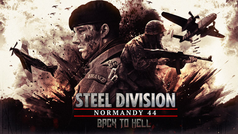 Eugen Systems RTS Steel Division Normandy 44 DLC Back To Hell Game Purchase Thumbnail
