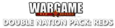 Eugen Systems RTS Wargame Red Dragon DLC Double Nation Pack Reds Logo