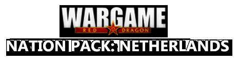 Eugen Systems RTS Wargame Red Dragon DLC Nation Pack Netherlands Logo
