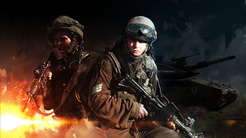Eugen Systems RTS Wargame Red Dragon Game Key Art Israel Nation Pack Thumbnail Purchase