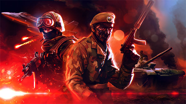 Eugen Systems RTS Wargame Red Dragon Game Key Art Double Pack Reds Thumbnail Purchase