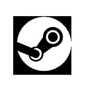 Game button logo steam