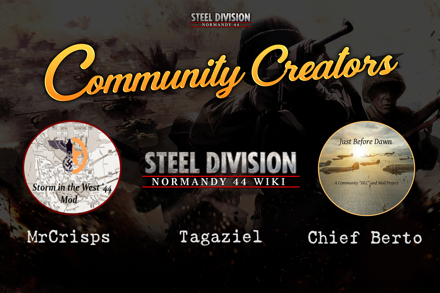 First_Blood_Steel_Division_Creators_Mods_Wiki